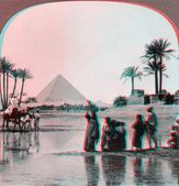 Inundation of the Nile — Stock Photo