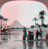 Inundation of the Nile — Stock Photo