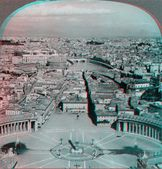 City of rome from balcony — Stock Photo