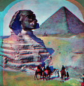 Sphinx Egypt — Stock Photo