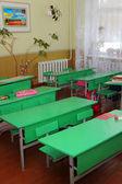 Scuola del villaggio ucraino — Foto Stock