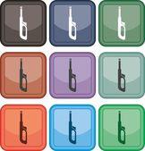 Lighter, icon, vector — Stock Vector