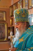 Svyaschennik.Mitropolit Dnepropetrovsk Ukraine — Stock Photo