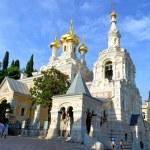 Yalta Cathedral of St. Alexander Nevsky Ukraine — Stock Photo