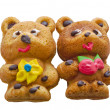 Home baking - 2 bears — Foto Stock