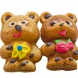 Home baking - 2 bears — Foto de Stock