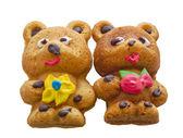 家里烘烤-2 熊 — 图库照片