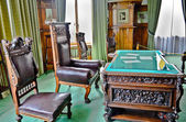 Museum of history and architecture Livadia Palace The Cabinet of the king Yalta Crimea — Stock Photo