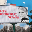 Yulia Tymoshenko. Ukrainian politician. illegally, convicted, repressed — Stock Photo