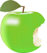Green Apple. — Wektor stockowy