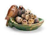 Quail eggs. — Foto de Stock