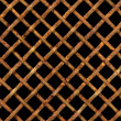 Stock Photo: Rusty steel lattice.