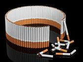 Nie została zakończona przed papierosy — Zdjęcie stockowe