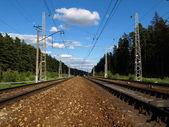 El ferrocarril — Foto de Stock