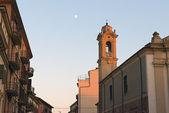 View of Verona's street at sunset. — Stock Photo