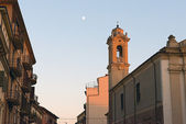 View of Verona's street at sunset. — Foto de Stock