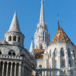 Fisherman's Bastion, Buda castle in Budapest, Hungary. — Stock Photo