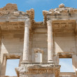 Library of Celsus in Ephesus, Selcuk, Turkey. — Foto de Stock