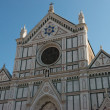 Royalty-Free Stock Photo: Famous beautiful Basilica Santa Croce, Florence, Italy.