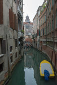 The view of canal in Venice, Italy. — Stock Photo