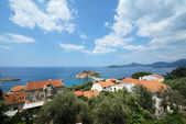 Sveti Stefan locality and islet near Budva, Montenegro. — Stock Photo