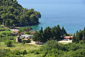 View of Lucice beach near Petrovac, Montenegro. — Stock Photo