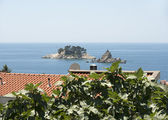 Two beautiful islets near Petrovac, Montenegro. — Stock Photo