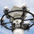 Lamppost of old soviet style in Sevastopol. — Stock Photo #35276263