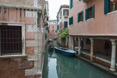 View of canal Rio de la Verona in Venice, Italy. — Stock Photo
