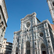 View of SantMaridel Fiore and Baptistery, Florence. — Stock Photo #40620815