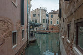 View of canal Rio de la Veste in Venice, Italy. — Stock Photo