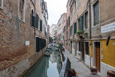 View of Rio de San Maurizio in Venice, Italy. — Stock Photo