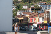 The street in Fethiye, Turkey. — Stock Photo
