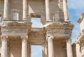 Library of Celsus in Ephesus, Selcuk, Turkey. — Stock Photo