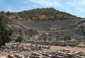 The ancient theater in Ephesus, Turkey. — Stock Photo