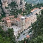 View of Santa Maria de Montserrat Abbey, Barcelona, Catalonia, S — Stock Photo #50905053