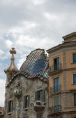 Gaudi's House Casa Batllo (house of bones) in Barcelona, Spain — Foto de Stock