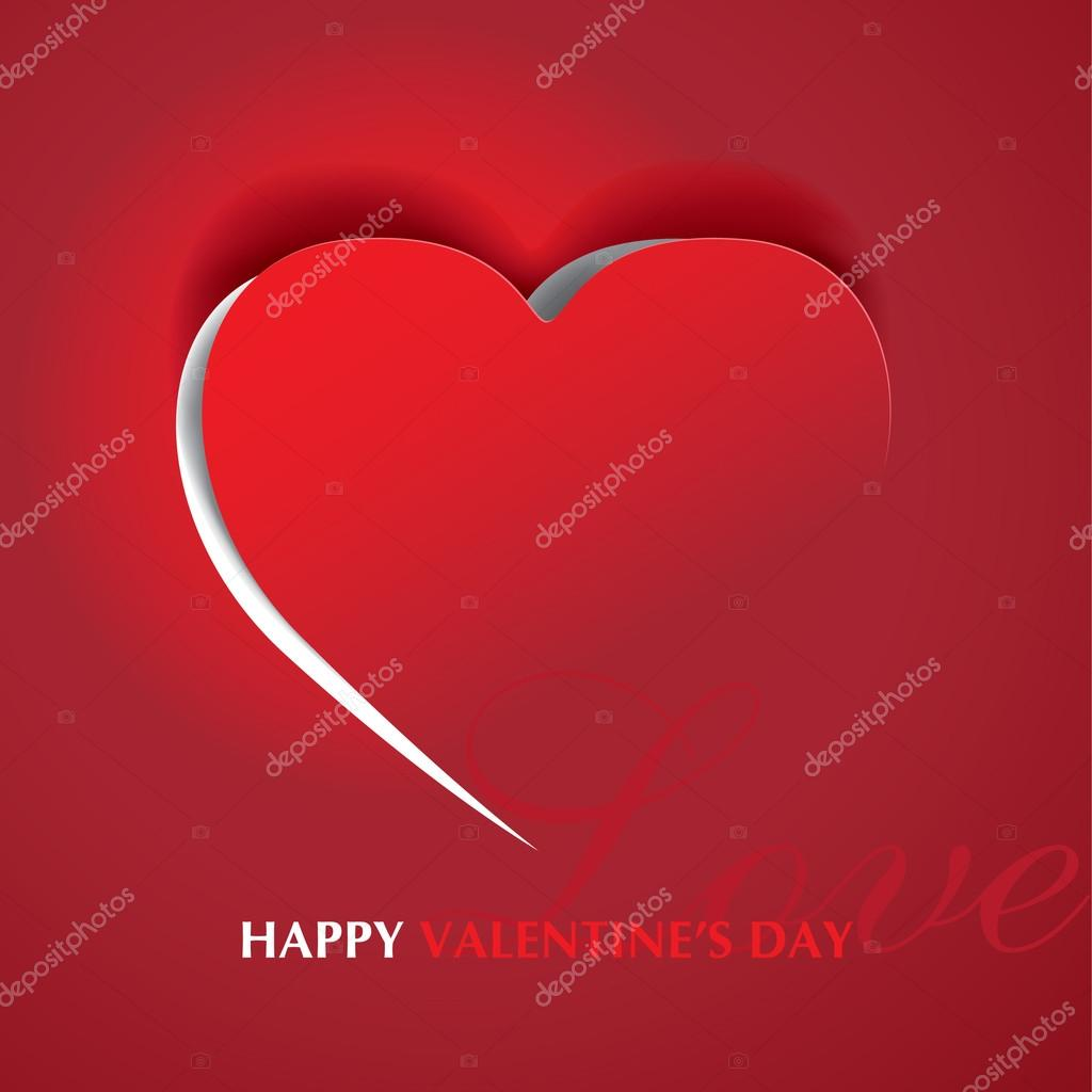 Label red heart — Stock Vector #16202899