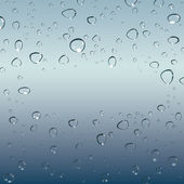 Drops of water. Vector — Stockvector