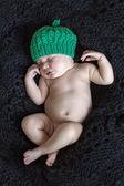 Süße Träume eines neugeborenen Babys — Stockfoto