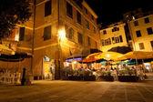 Night live in Vernazza, Cinque Terre, Italy — Stock Photo