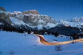 Dolomites mountains, Val di Fassa, Italy — Stock Photo