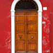 Stock Photo: Colorful doors of Burano island, Venice, Italy