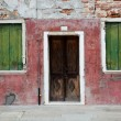 Colorful house in Burano island, Venice, Italy - Stock Photo