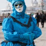 Venetian carnival mask — Stock Photo #19197281