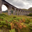 Glenfinnan viaduct, Scotland, UK — Stock Photo