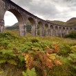 Stock Photo: Glenfinnan viaduct, Scotland, UK