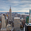panorama Manhattanu - new york — Stock fotografie #19197507