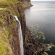 Kilt rock waterfall, Isle Of Skye, Scotland, UK — Stock Photo #19197587