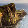Lighthouse on Neist Point, Isle Of Skye, Scotland, UK — Stock Photo #19197651